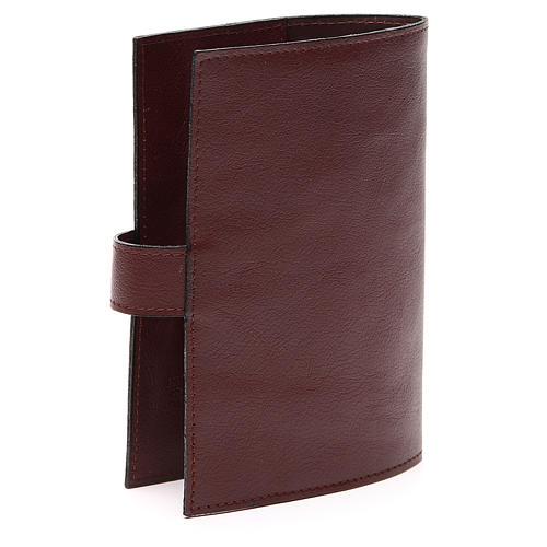 Couv. Lit. 4 vol. cuir brun foncé Christ Miséricordieux 3