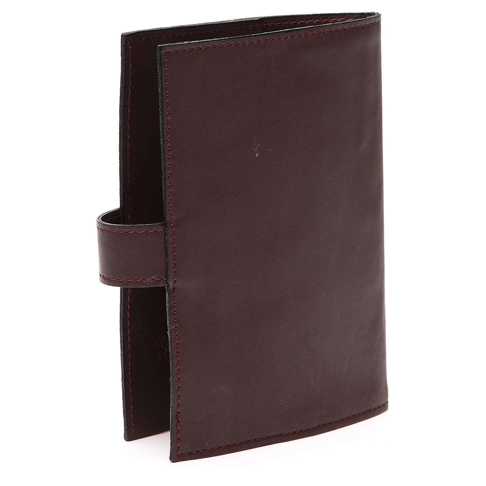 Couv. Lit. 4 vol. cuir brun foncé Pantocrator 4