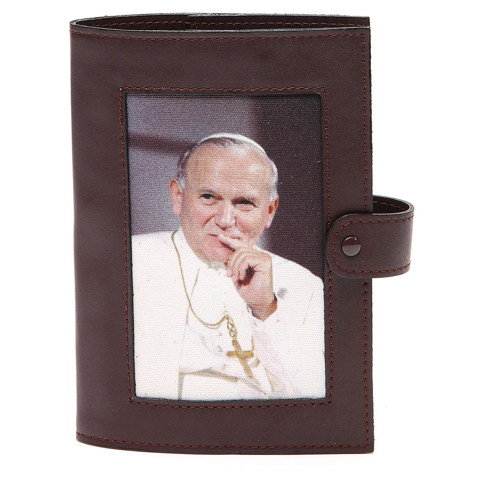 Cop. Lit. 4 vol. pelle testa di moro Giovanni Paolo II 4