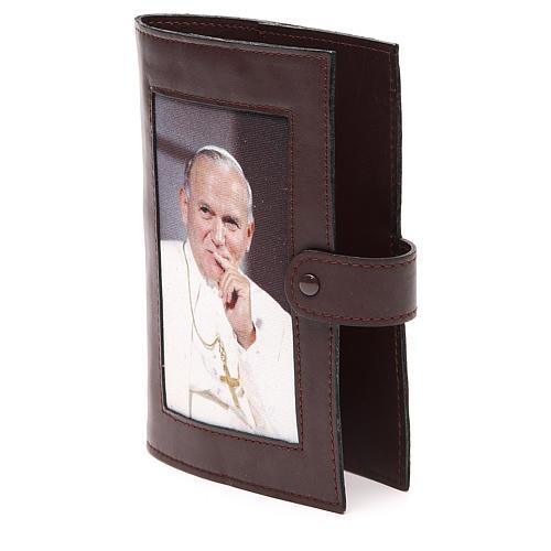 Cop. Lit. 4 vol. pelle testa di moro Giovanni Paolo II 2