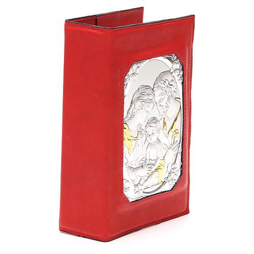 Custodia 4 vol. magnetica S. Fam. Metallo rossa 4