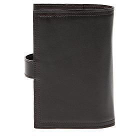 Couverture Lit. Heures 4 vol. brun foncé cuir RnS s4