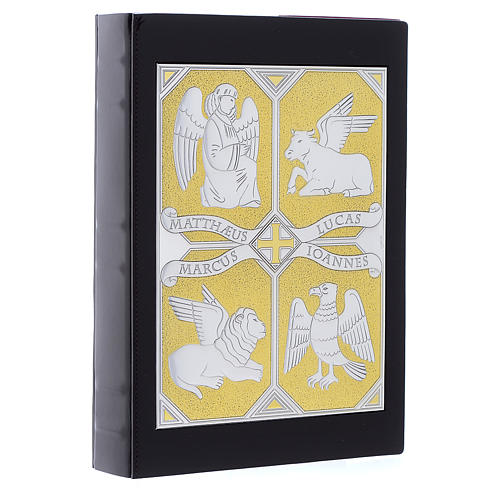 Cover for Gospel Book, gold and silver 4 Evangelists 2