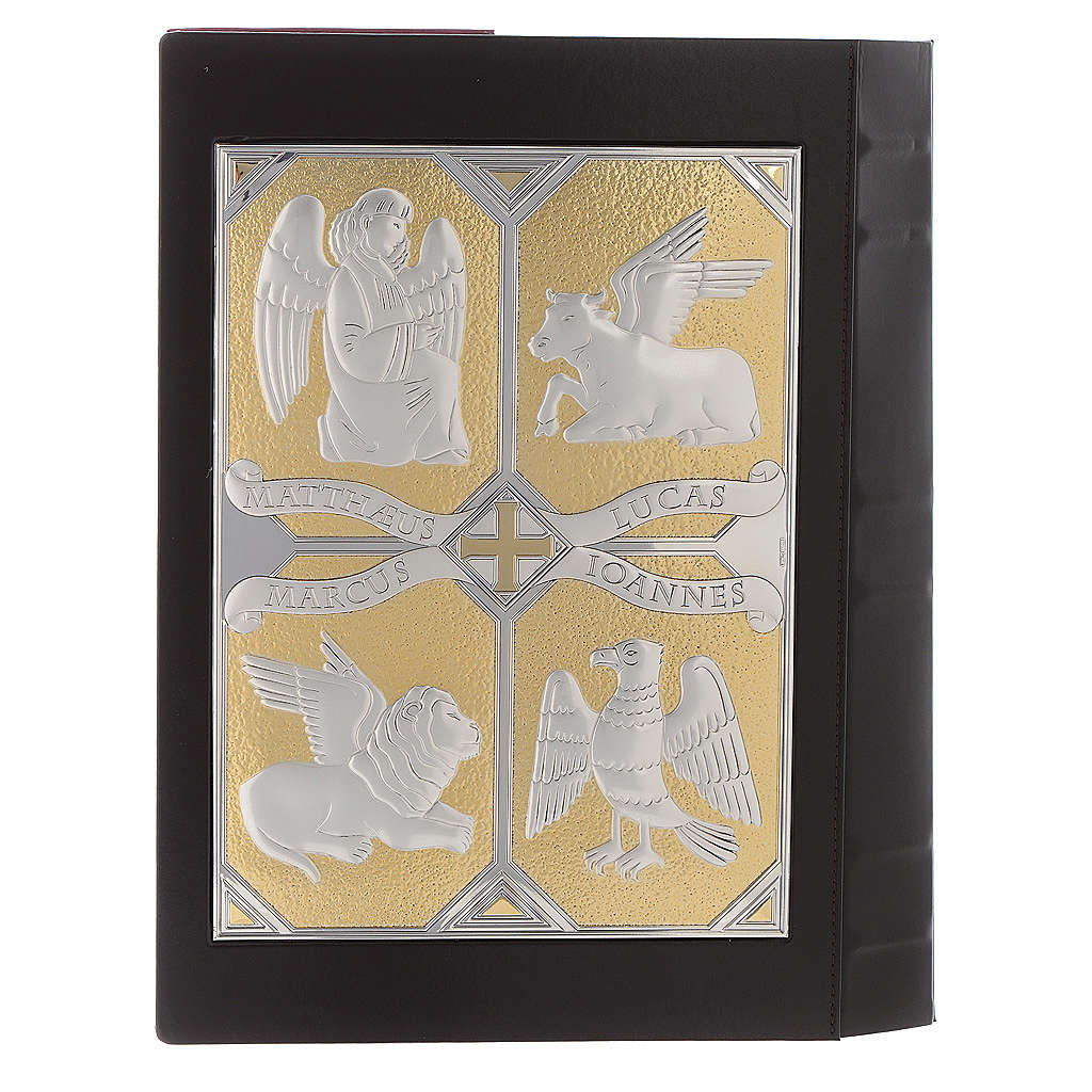 Cover for Gospel Book with 2 plaques, Pantocrator Evangelists 4