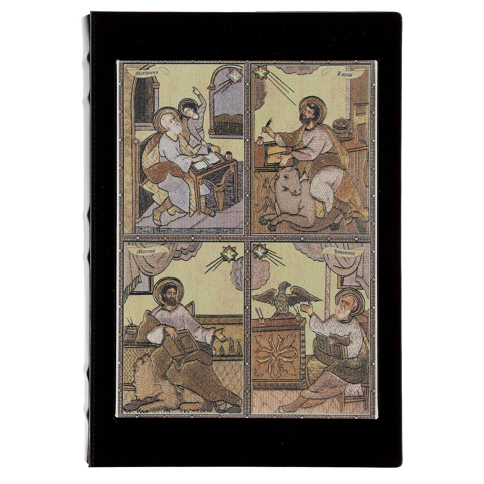 Gospel Book cover with Evangelists 4