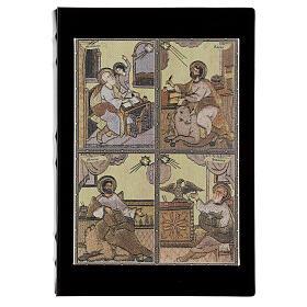 Gospel Book cover with Evangelists s1