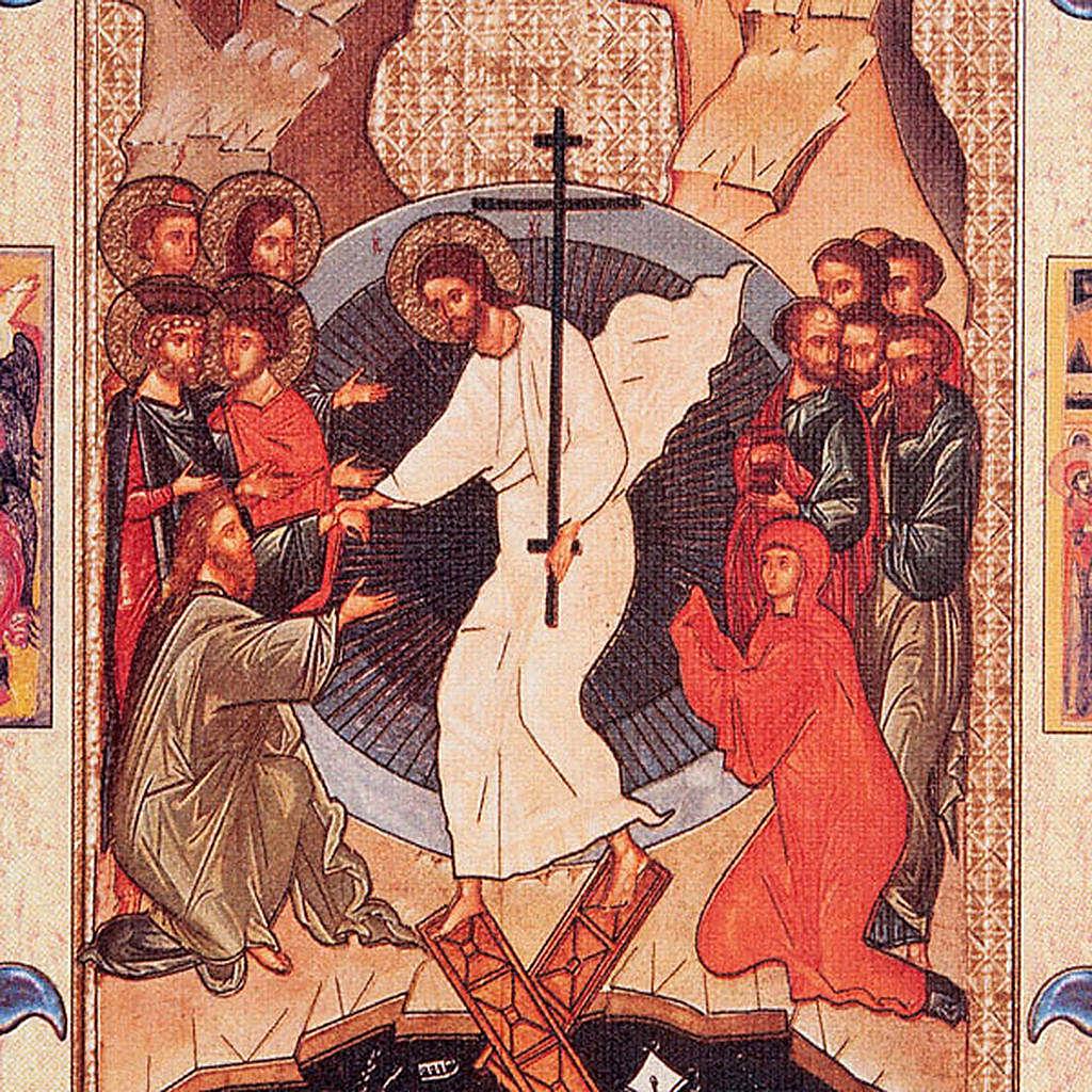 Gospel Book cover, Resurrection 4