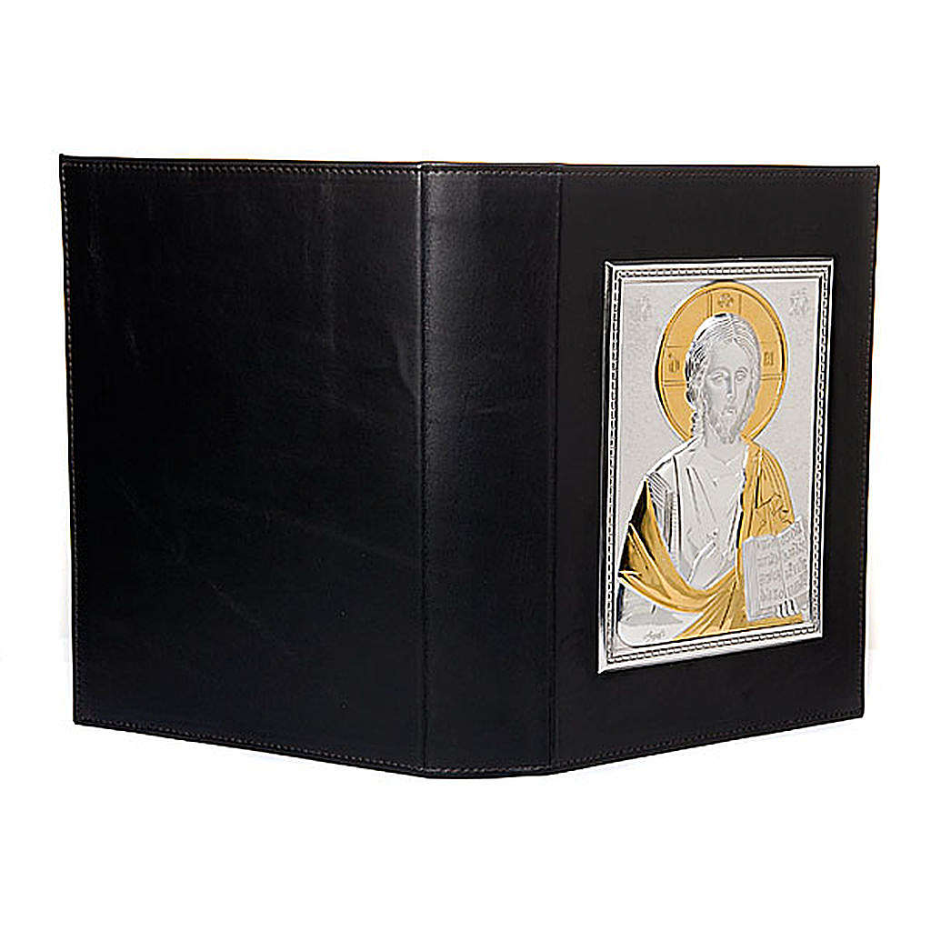 Lectionary slipcase silver and gold plate 4