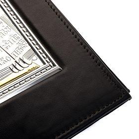 Couverture lectionnaire, plaque Jésus, argent, or s2