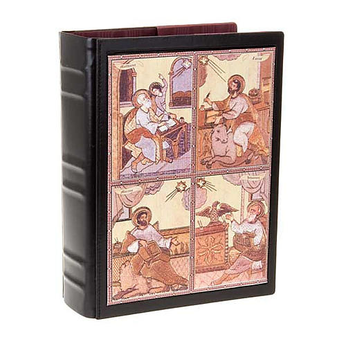 Leather Lectionary cover with the Evangelists 1