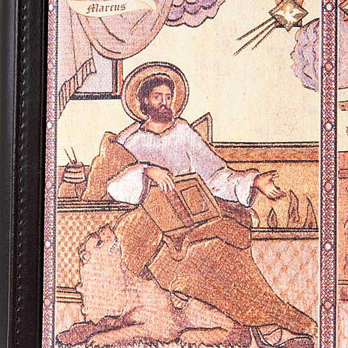 Leather Lectionary cover with the Evangelists 2