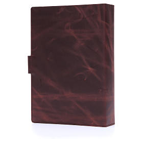 Lectionary cover with Snap in Silver Leather s4