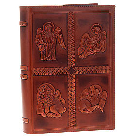 Lectionary cover, real leather with 4 Evangelists s1