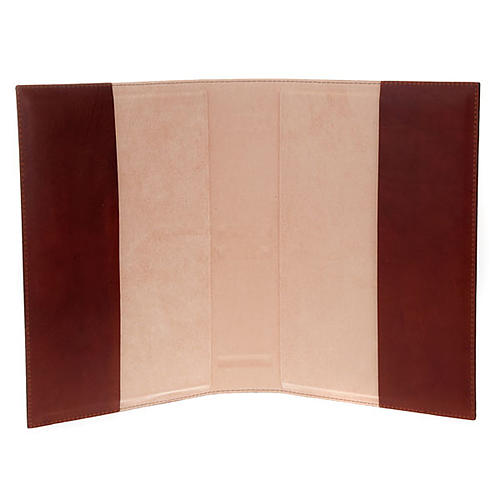 Lectionary cover, real leather with 4 Evangelists 2