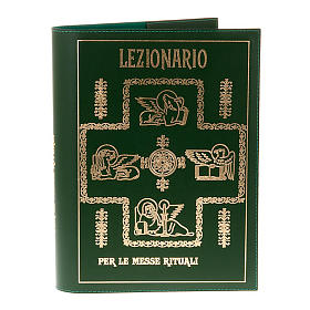 Lectionary Cover in Real Leather with Golden Print s1