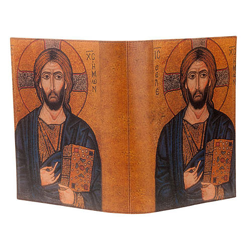 Lectionary cover in real leather, Pantocrator icon 3