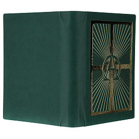 Lectionary cover in real leather, Alpha and Omega s5