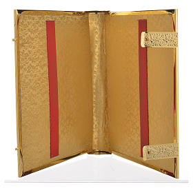 Lectionary cover in Gold Brass and Varnish with Jesus and the Evangelists images s5