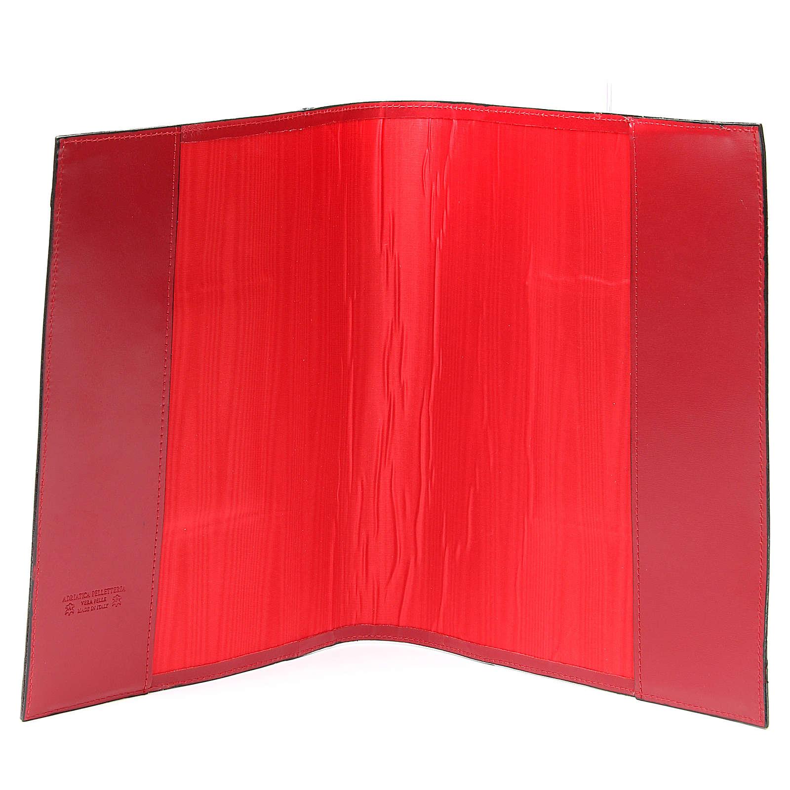 Coprilezionario feriale festivo pelle rossa Ancora Salvezza 4