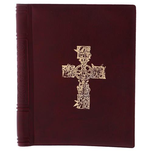 Messbuch-Einband Romano 25,5x18 cm 1