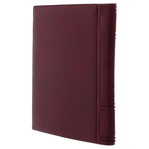 Messbuch-Einband Romano 25,5x18 cm 2