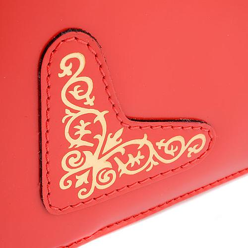 Slip-case for roman missal red 5