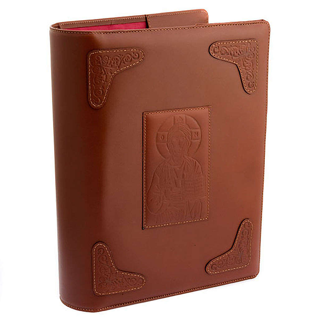 Cow-hide slip-case for Roman Missal 4