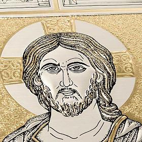 Einband Messbuch mit Platte Kristus Pantocratore s3