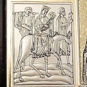 Einband Messbuch mit Platte Kristus Pantocratore s4