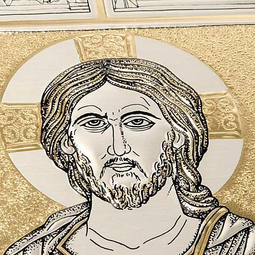 Einband Messbuch mit Platte Kristus Pantocratore 3