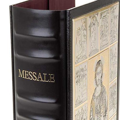 Einband Messbuch mit Platte Kristus Pantocratore 5