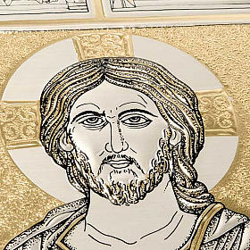 Missal bookcover with Christ Pantocrator plaque s3
