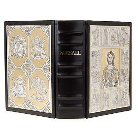 Copertina Messale con doppia placca Cristo Pantocratore s1