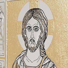 Copertina Messale con doppia placca Cristo Pantocratore s2