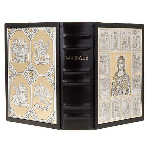 Copertina Messale con doppia placca Cristo Pantocratore 1