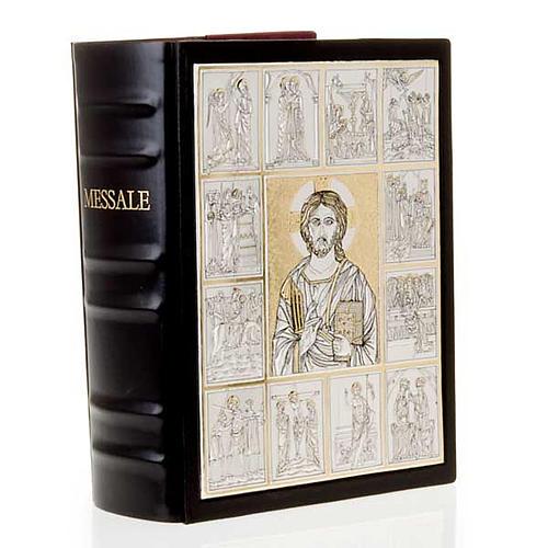 Copertina Messale con doppia placca Cristo Pantocratore 7