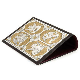 Leather Missal cover with double plaque of Christ Pantocrator s3