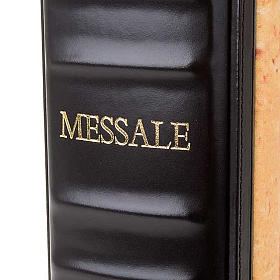Leather Roman Missal book cover with images s6