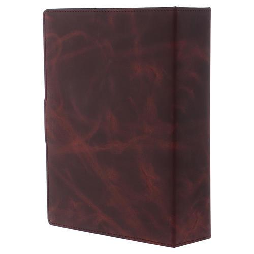 Einband Roemisch Messbuch Silber und Leder 3