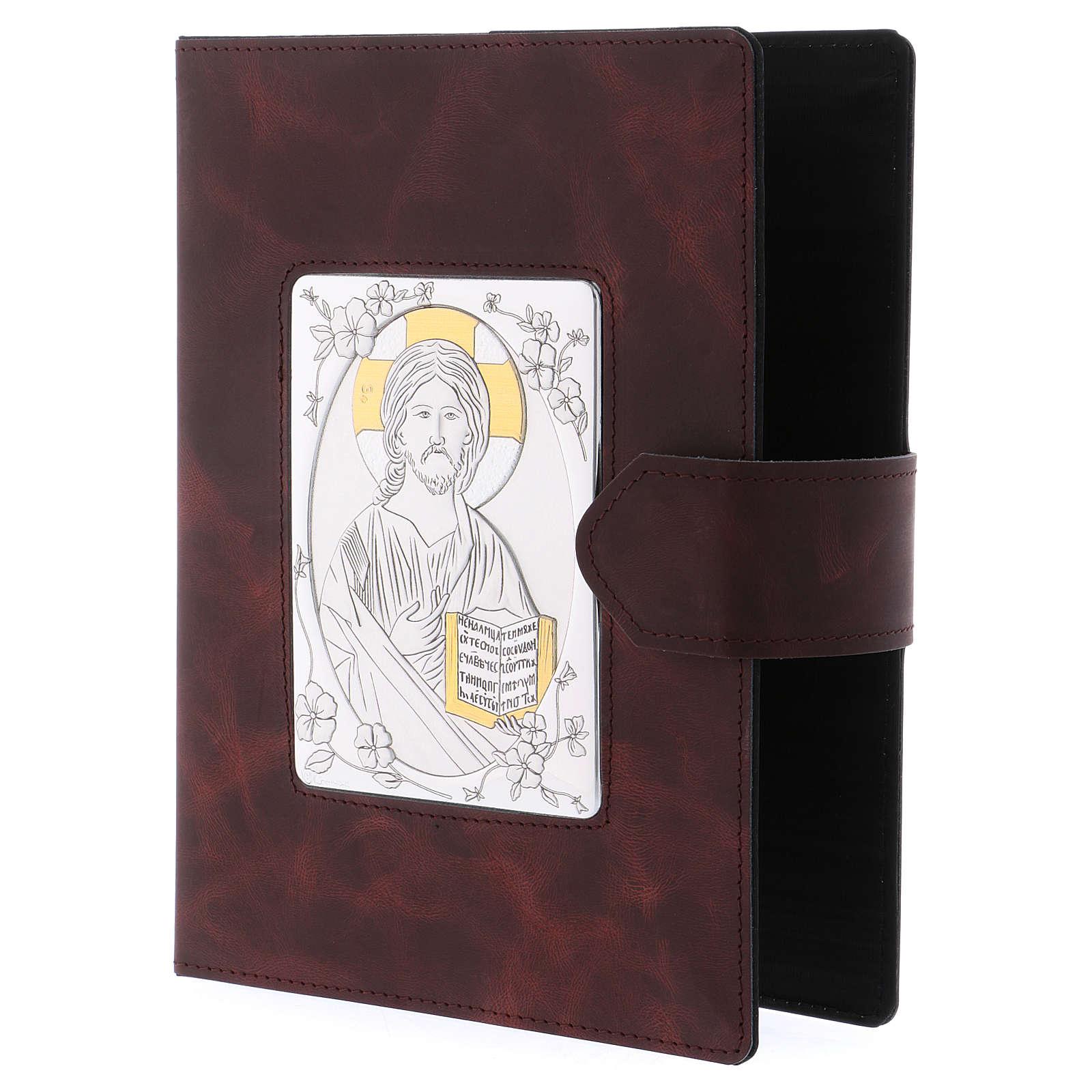 Portada Misal Romano plata y piel 4