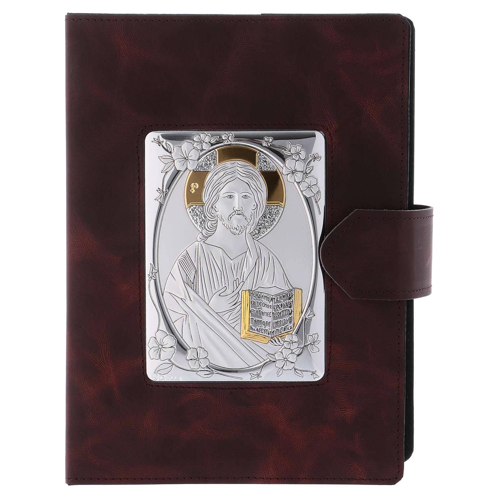Copertina Messale Romano argento e pelle 4