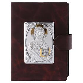 Copertina Messale Romano argento e pelle s1