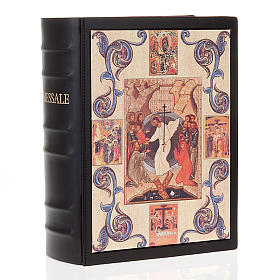 Missal cover in real leather, Resurrection (NO III EDITION) s1
