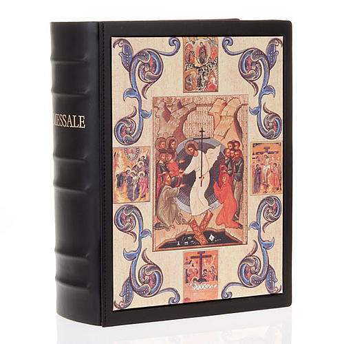 Missal cover in real leather, Resurrection (NO III EDITION) 1