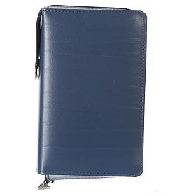 Cover for Saint Paul missal, blue leather s1
