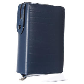 Cover for Saint Paul missal, blue leather s2