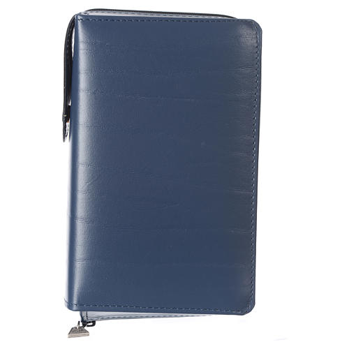 Cover for Saint Paul missal, blue leather 1