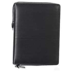 Cover for missal, black leather s1