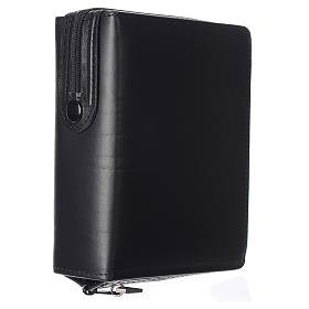 Cover for missal, black leather s2
