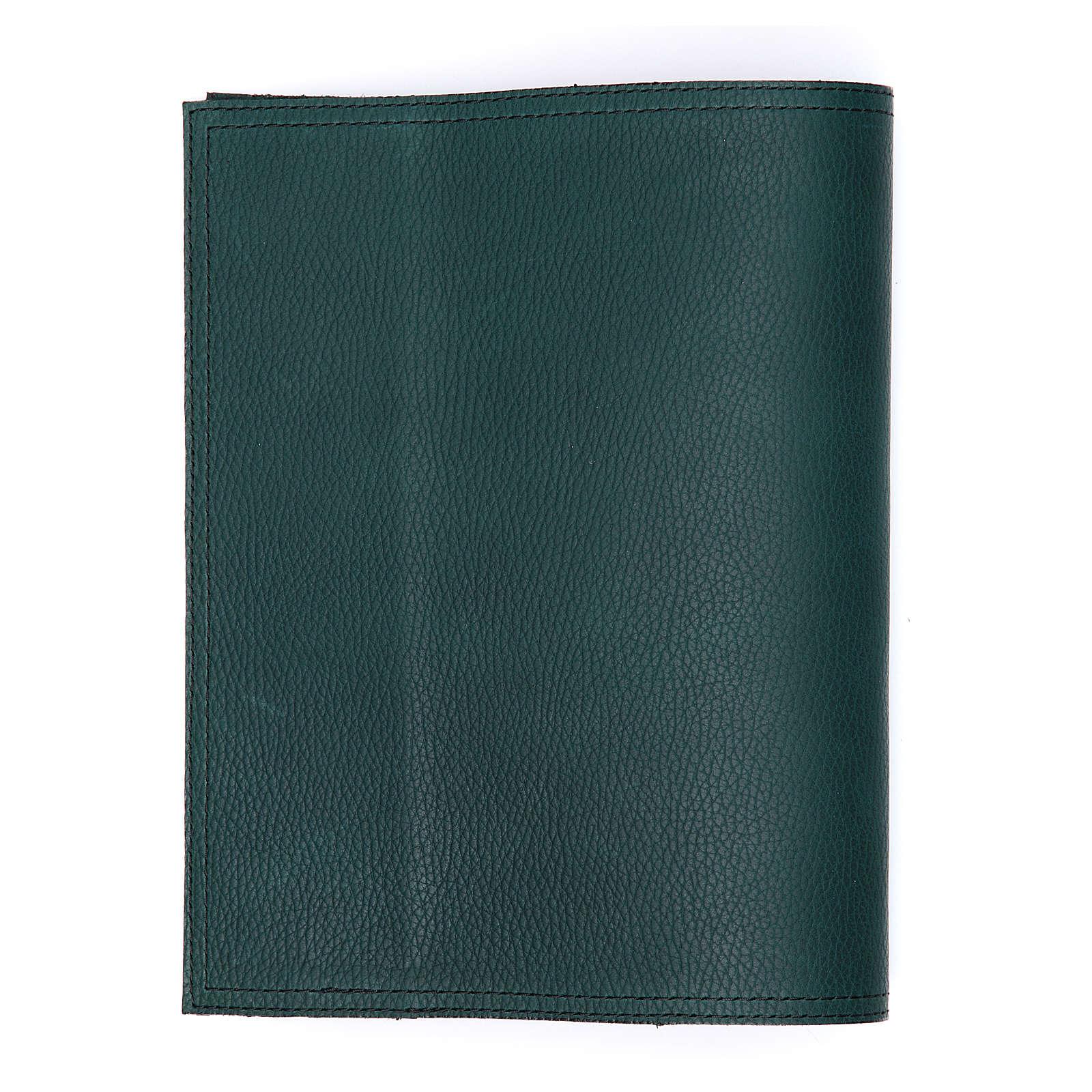 Couverture petit Missel d'autel vert Alpha Oméga 4